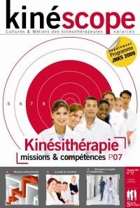 Kinéscope magazine Missions & compétences - Kinésithérapie