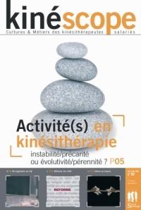 Kinéscope magazine Activité en kinésithérapie - Activité en kinésithérapie